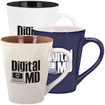 13oz Designer Two Tone Mugs